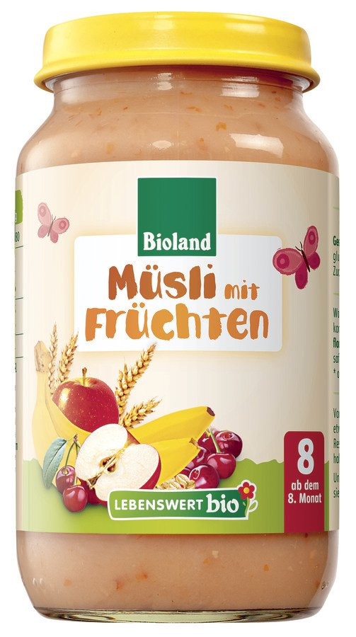 Lebenswert bio Müsli mit Früchten 6x220g