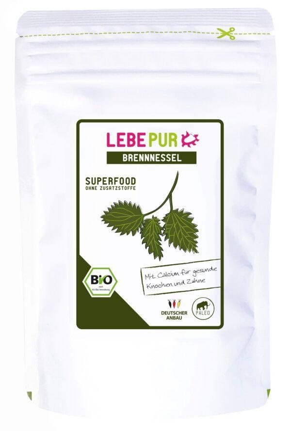 Lebepur GmbH Lebepur Brennnessel (bio) 125g