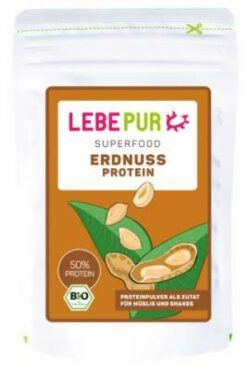 Lebepur Erdnussprotein (Bio) 192g