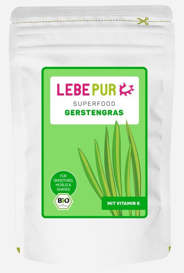 Lebepur Gerstengras (bio) 125g