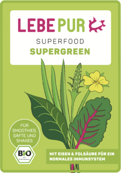 Lebepur Supergreen (bio) 100g