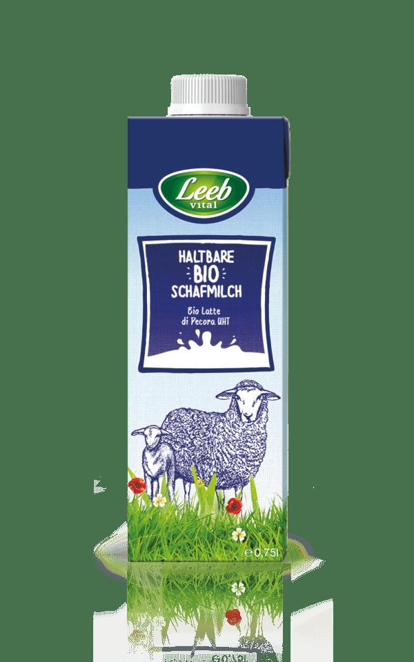 Leeb Vital Bio Schafmilch mit mind. 4,5% Fett, ultrahocherhitzt 6x750ml