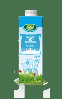 Leeb Vital Bio Ziegenmilch mit mind. 3% Fett, ultrahocherhitzt 6x750ml
