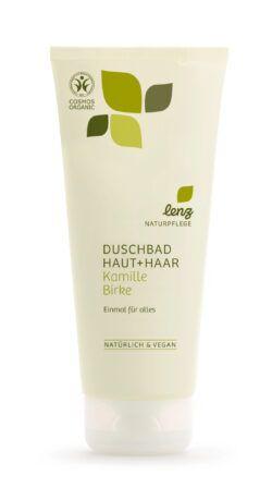 Lenz Naturpflege Duschbad Haut + Haar Kamille Birke 200ml