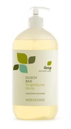 Lenz Naturpflege Duschbad Ringelblume Minze 950ml