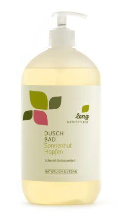 Lenz Naturpflege Duschbad Sonnenhut Hopfen 950ml