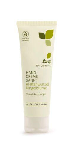 Lenz Naturpflege Handcreme Sanft Klettenwurzel Ringelblume 75ml