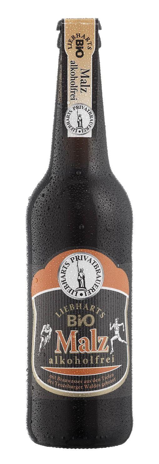 Liebharts Privatbrauerei GmbH & Co. KG Liebharts Bio Malz alkoholfrei 8x 8x0,5l