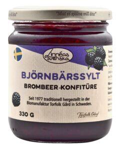 Linnéas Svenska Björnbärssylt, Brombeer-Konfitüre, kbA 6x330g