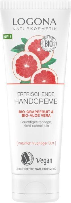 Logona Erfrischende Handcreme Bio-Grapefruit & Bio-Aloe Vera 75ml
