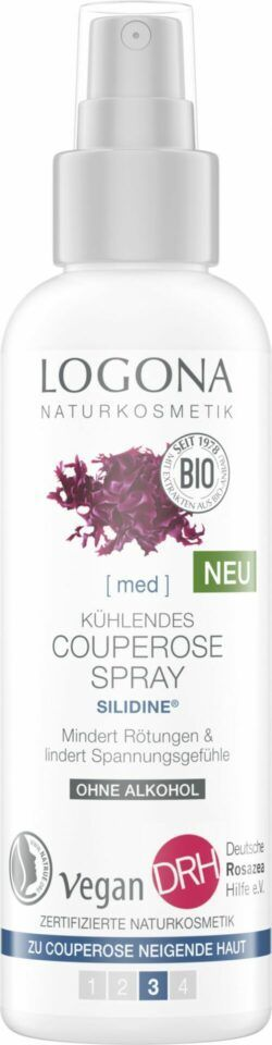 Logona Kühlendes Couperose Spray SILIDINE® 125ml