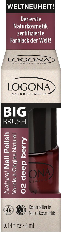 Logona Natural Nail Polish no. 02 deep berry 4ml