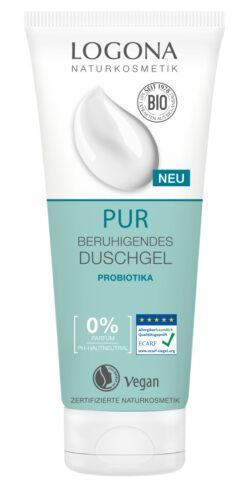 Logona PUR Beruhigendes Duschgel Probiotika 200ml
