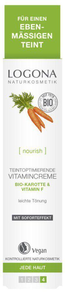 Logona Strahlender Teint Vitamincreme 30ml