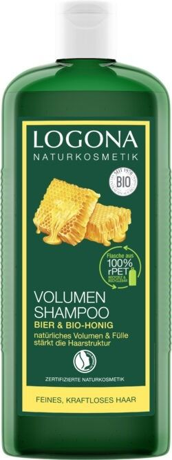 Logona Volumen Shampoo Bier& Bio-Honig 500ml
