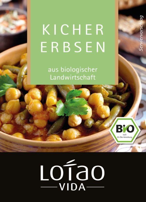 Lotao Aromatische, Bio Kichererbsen, getrocknet 10x500g
