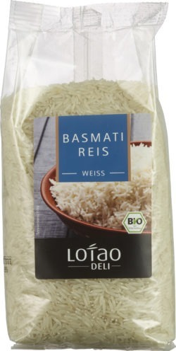Lotao Bio Basmati-Reis weiß 10x500g
