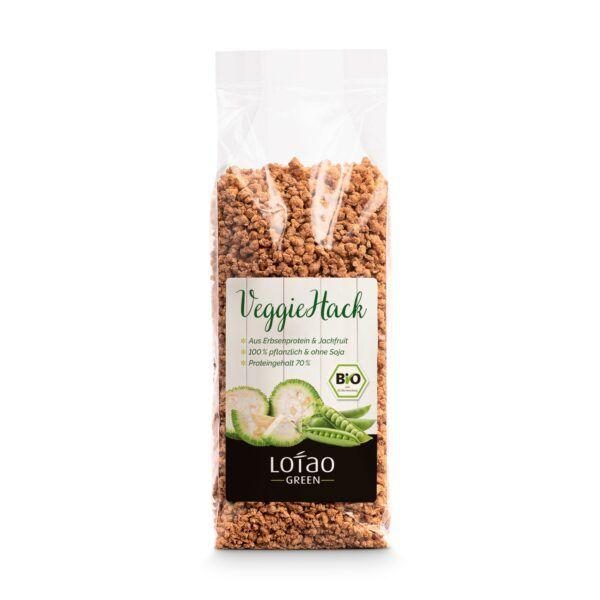 Lotao Bio vegetarisches Hack auf Basis von Erbsenprotein und Jackfruit 8x100g