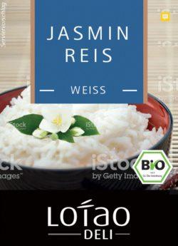 Lotao Jasmin Reis weiß, Bio 10x500g