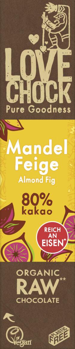 Lovechock B.V. Lovechock Riegel Mandel/Feige 80 % 12x40g