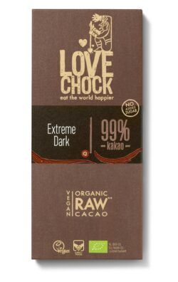 Lovechock B.V. Lovechock Tafel Extreme Dark 99 % 8x70g