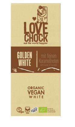 Lovechock B.V. Lovechock Tafel Golden White mit feinen Karamellnoten 8x70g