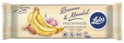 Lubs Banane Mandel Fruchtriegel, Bio, glutenfrei, vegan 25x40g