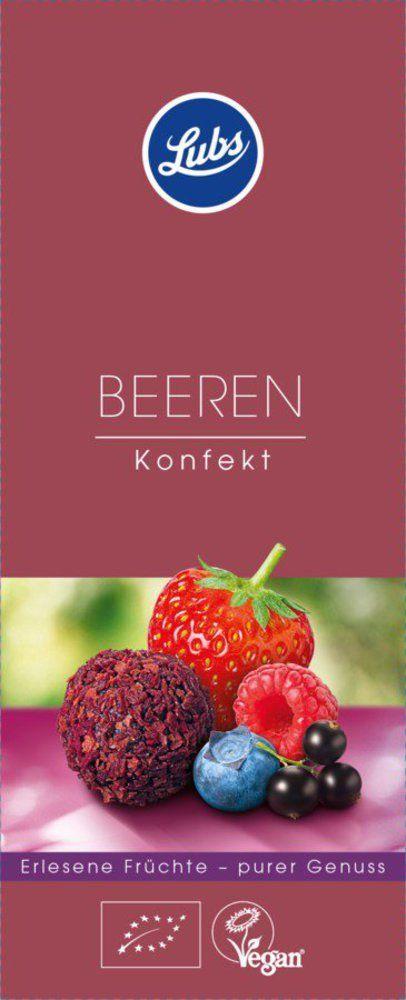 Lubs Beeren Konfekt, Bio-Fruchtkonfekt, glutenfrei, vegan 6x80g