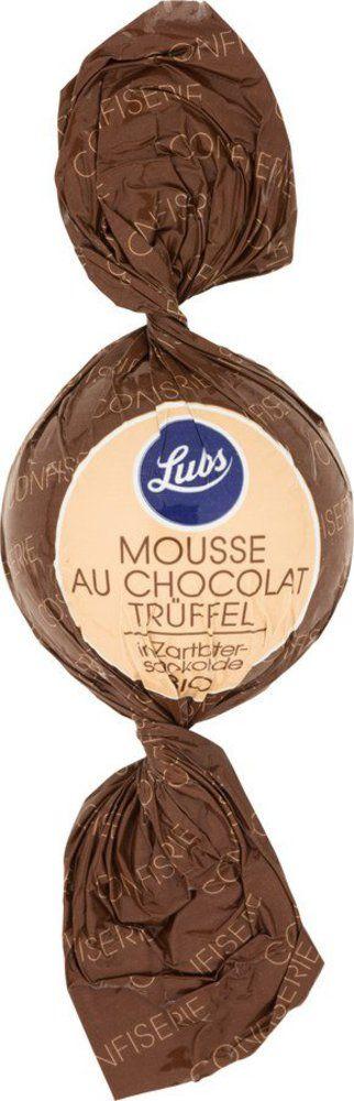 Lubs Confiseriekugeln Mousse au Chocolat in Zartbitterschokolade, Bio, glutenfrei 50x15g