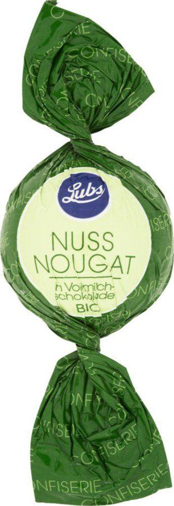 Lubs Confiseriekugeln Nussnougat in Vollmilchschokolade, Bio, glutenfrei 50x17g