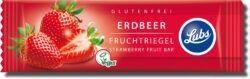 Lubs Erdbeer Fruchtriegel, Bio, glutenfrei, vegan 25x30g