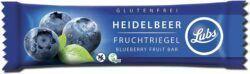Lubs Heidelbeer Fruchtriegel, Bio, glutenfrei, vegan 25x30g