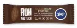 Lubs Kakao Minze Protein Fruchtriegel, Bio, glutenfrei, vegan, Rohkost 24x47g