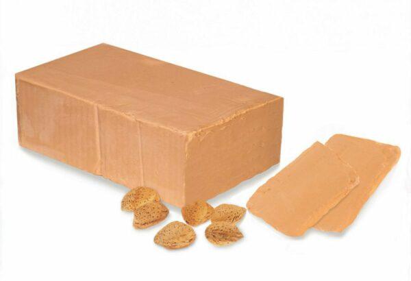 Lubs Mandelnougat (hell) Block, Bio, glutenfrei, vegan 2,5kg
