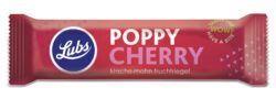 Lubs Poppy Cherry Fruchtriegel, Bio, glutenfrei, vegan 24x40g