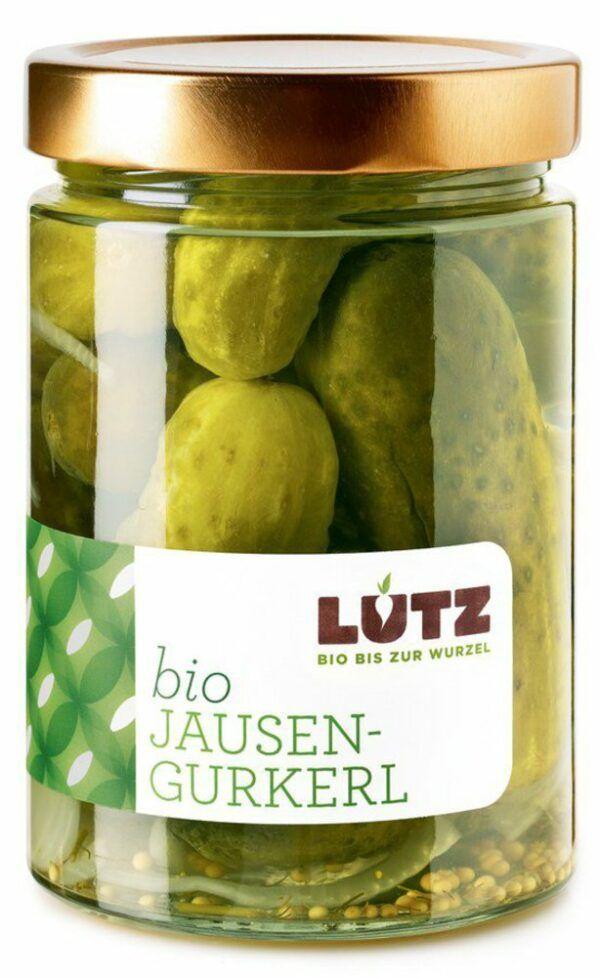 Lutz Jausen-Gurkerl   Bio-Einlegegemüse 9x580ml