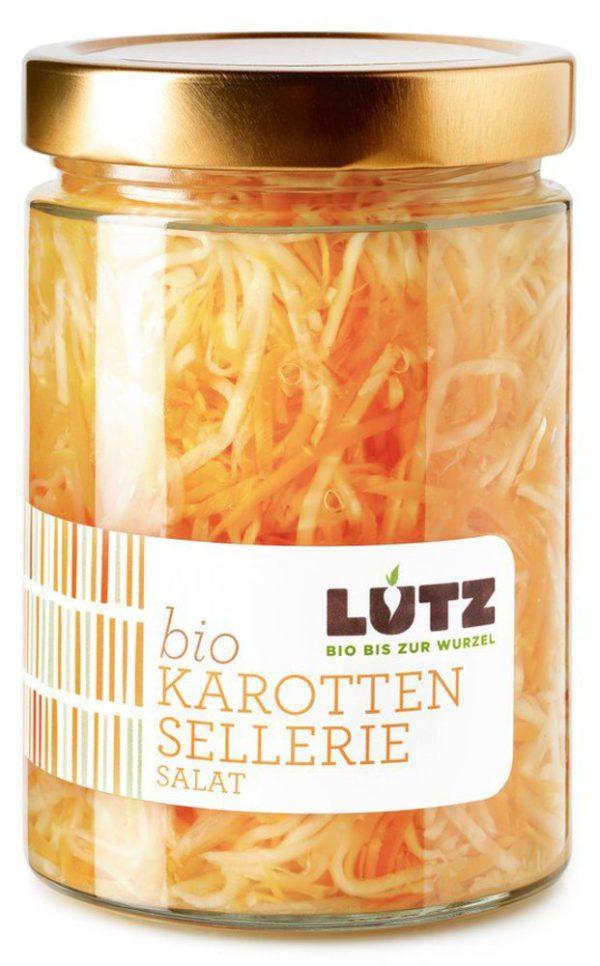 Lutz Karotten-Sellerie Salat | Bio-Einlegegemüse 580ml