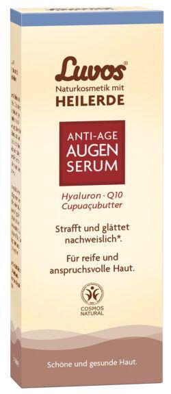 Luvos Naturkosmetik mit Heilerde Luvos-Heilerde Anti-Aging Augenserum für reife und anspruchsvolle Haut 15ml
