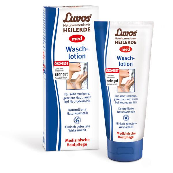Luvos Naturkosmetik mit Heilerde  Luvos-Heilerde MED Waschlotion 200ml