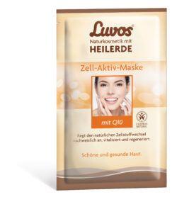 Luvos Naturkosmetik mit Heilerde  Luvos-Heilede Zell-Aktiv-Maske 10x15ml