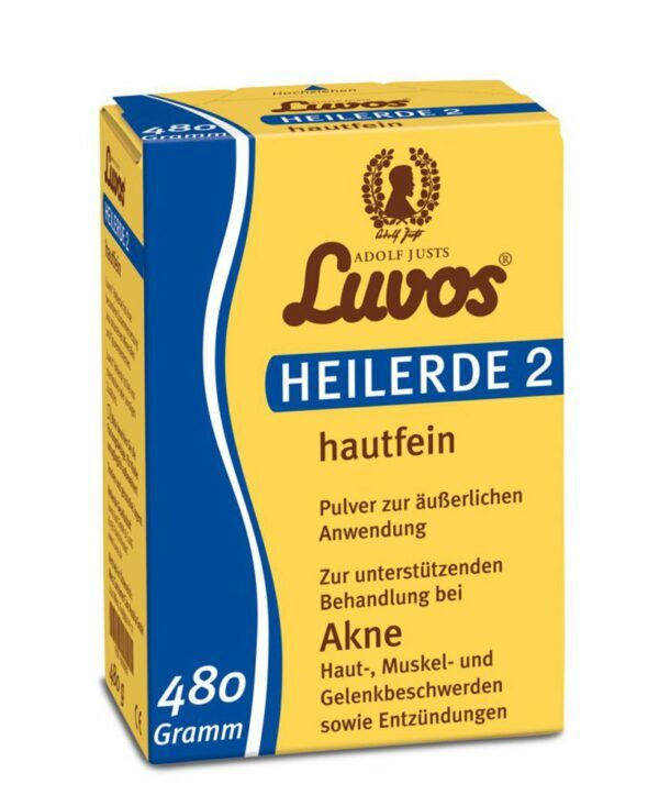 Luvos-Heilerde 2 hautfein 480g