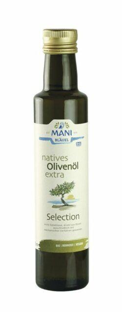 MANI® MANI natives Olivenöl extra, Selection, bio 6x250ml