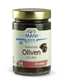 MANI® MANI Kalamata Oliven in Lake, bio, NL Fair 6x300g