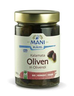 MANI® MANI Kalamata Oliven in Olivenöl, bio, NL Fair 6x280g