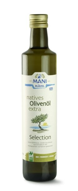MANI® MANI natives Olivenöl extra, Selection, bio, NL Fair 6x500ml