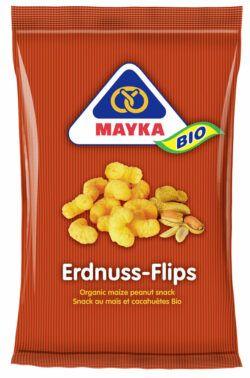 MAYKA Bio Erdnuss-Flips 12x75g