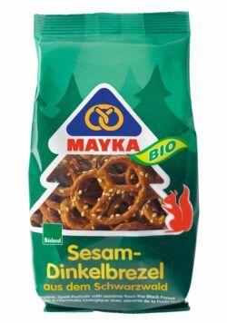 MAYKA Bio Sesam-Dinkelbrezel 12x125g