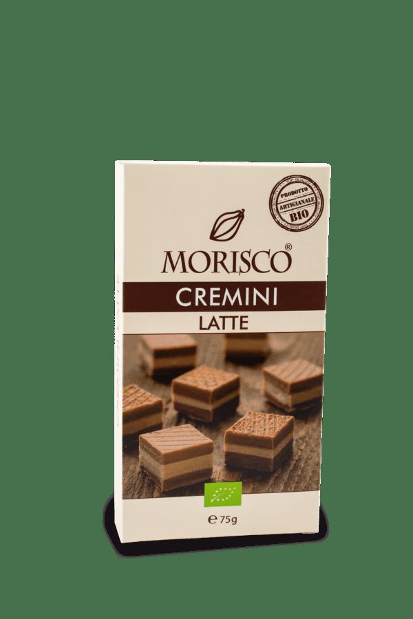 MORISCO Cremini 75 g Nougat Schicht mit Milchschokolade 6x75g