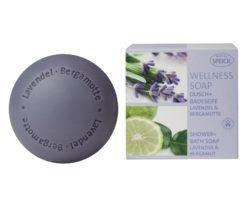 Made by Speick Wellness Soap, Dusch- und Badeseife Lavendel & Bergamotte 200g