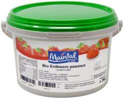 Maintal Bio Bio Erdbeer Konfitüre passiert 3kg
